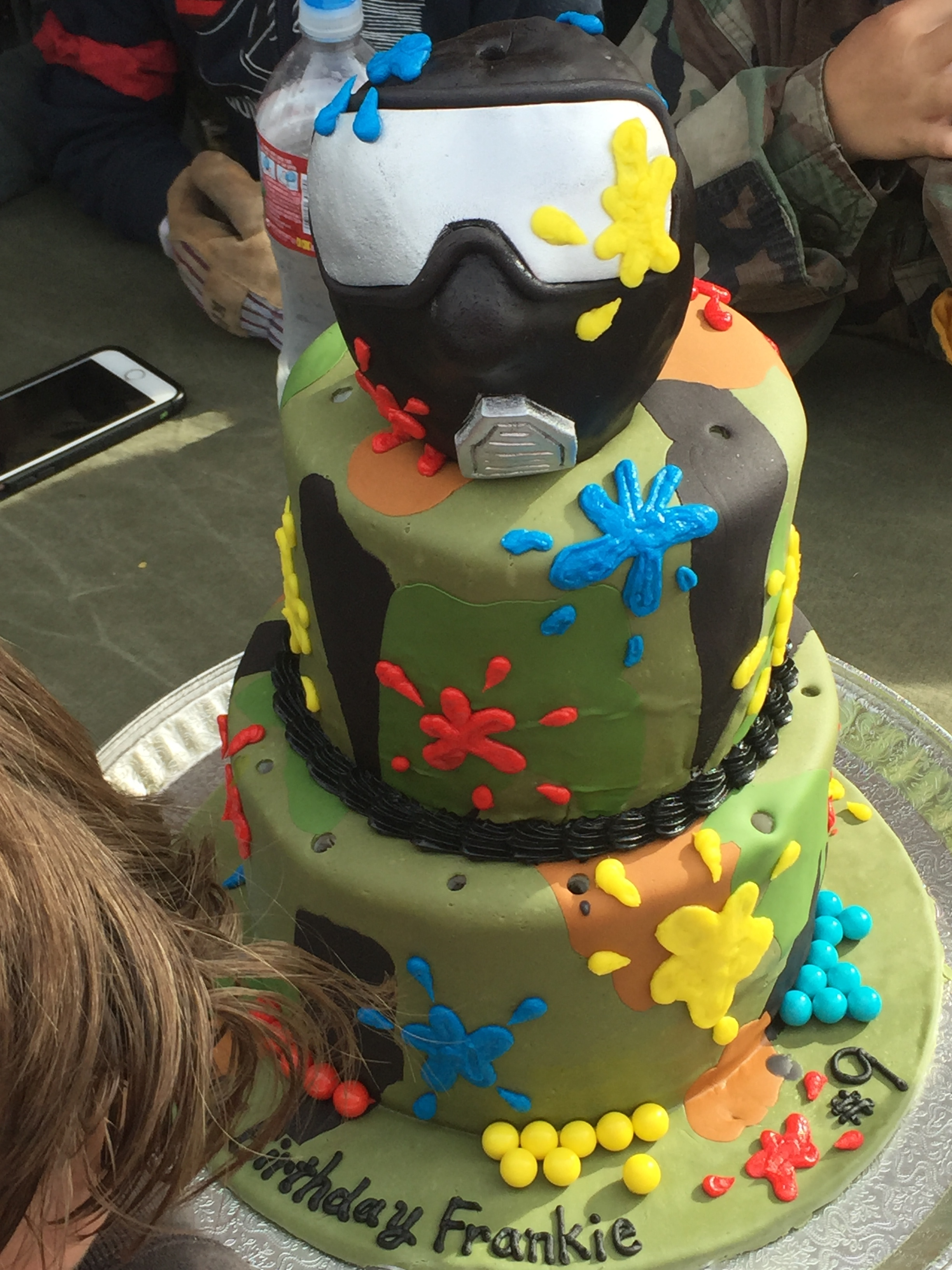 A very cool cake