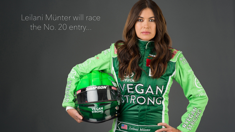 VEGAN STRONG RACE CAR IS BORN - JAN 2018