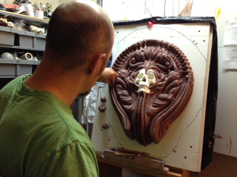 Weeks go by and now I am in the home stretch of the new sculpt!