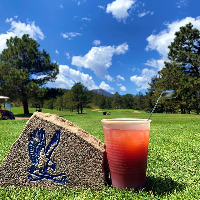 Beautiful day golfing at #eisenhowergolfcourse on the @usairforce Academy.  #originalhipstirrer #playwithyourcocktail #golf #golfclub #golfer #golflove #coloradogolf #rockymountains #springtimeintherockies #bloodymary #vodka #airforce #airforceacademy #usafa #coloradosprings #mountaingolf  @usafa_10fss @usairforceacadamy @titosvodka
