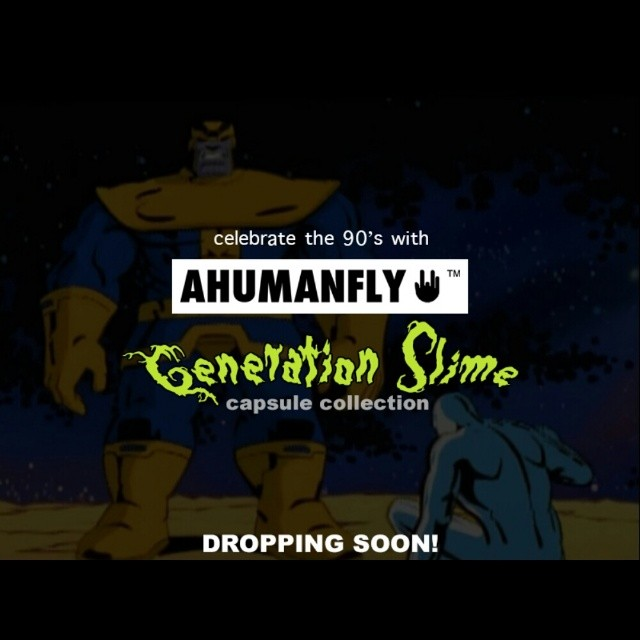 The newness is at an all time high! Wearable Nostalgia coming at godspeed! via  www.ahumanfly.com   Stay Tuned!!