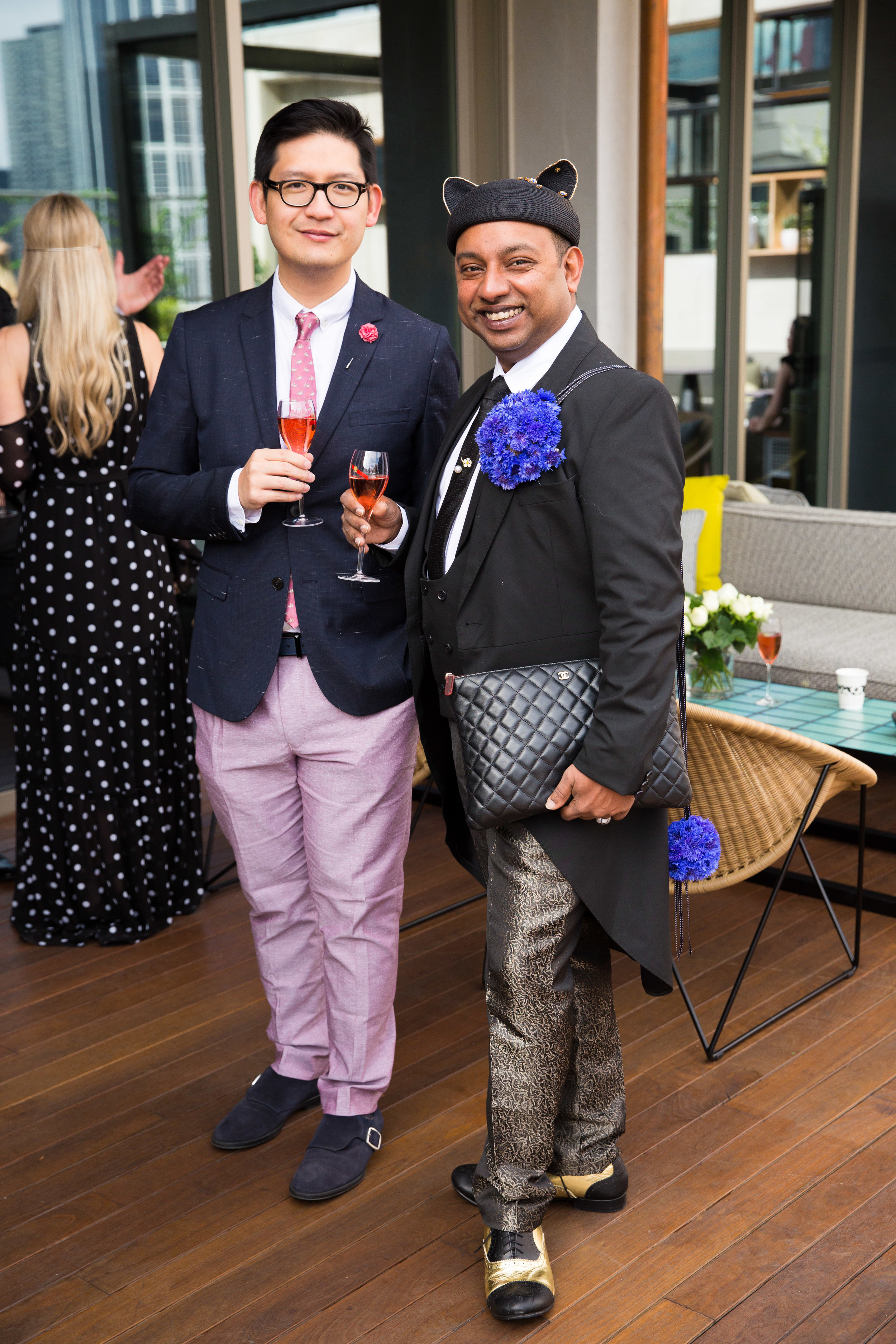 Vogue and GQ Derby Day Champagne Breakfast -