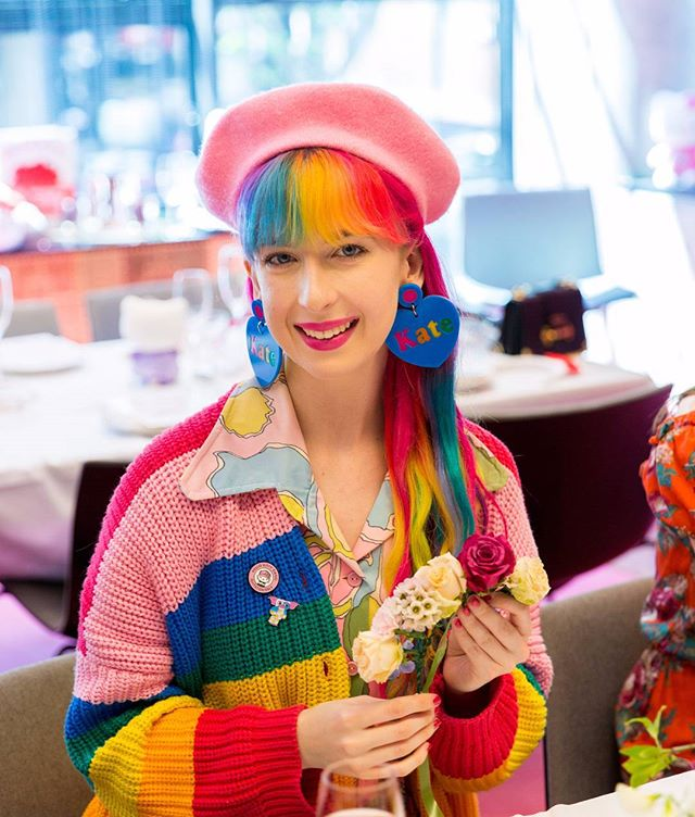 Photography for Hello Kitty @wearehellokitty #hellokittygang high tea at @QTMelbourne. Image: Rainbow blogger Kate Hannah ( @katehannah ). . Album on www.jamonyourcollar.com.au, link in bio. . @jam.on.your.collar.photography @stylecounselpr @toriallen_events @iscreamnails