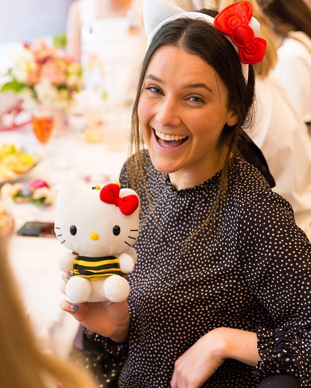Photography for Hello Kitty @wearehellokitty #hellokittygang high tea at @QTMelbourne. Image: Blogger . . Album on www.jamonyourcollar.com.au, link in bio. . @jam.on.your.collar.photography @stylecounselpr @toriallen_events @iscreamnails