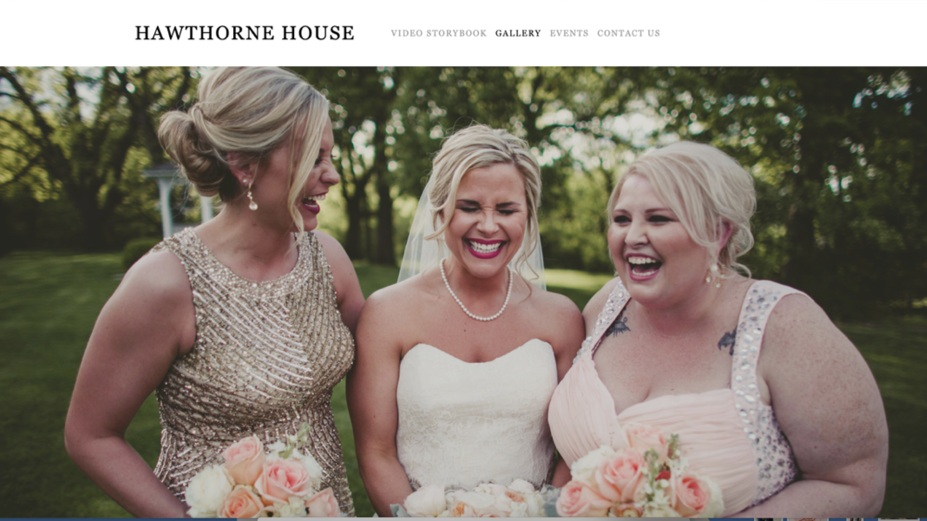 Chicago's leading web design agency for wedding, bridal, event, home decor, and gift industries