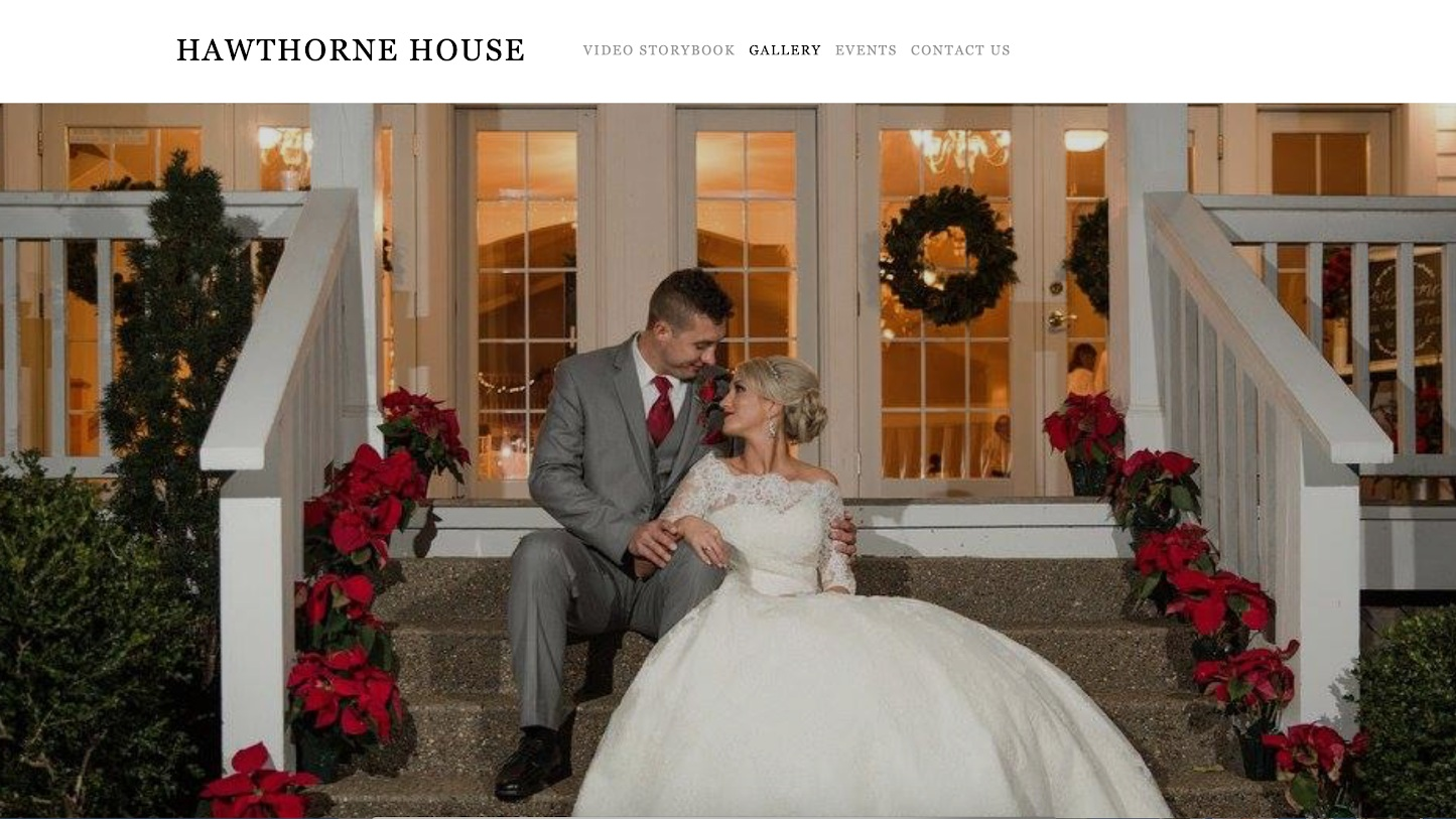 The Hawthorne House brand video production and website