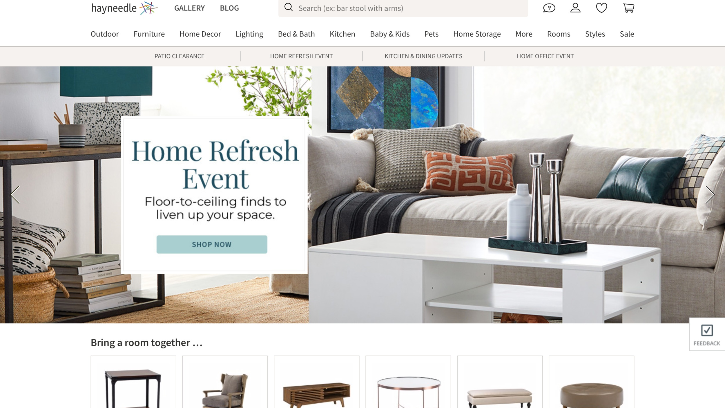 Best public relations agency for home decor and e-commerce industry. PR for Hayneedle.com  https://www.hayneedle.com