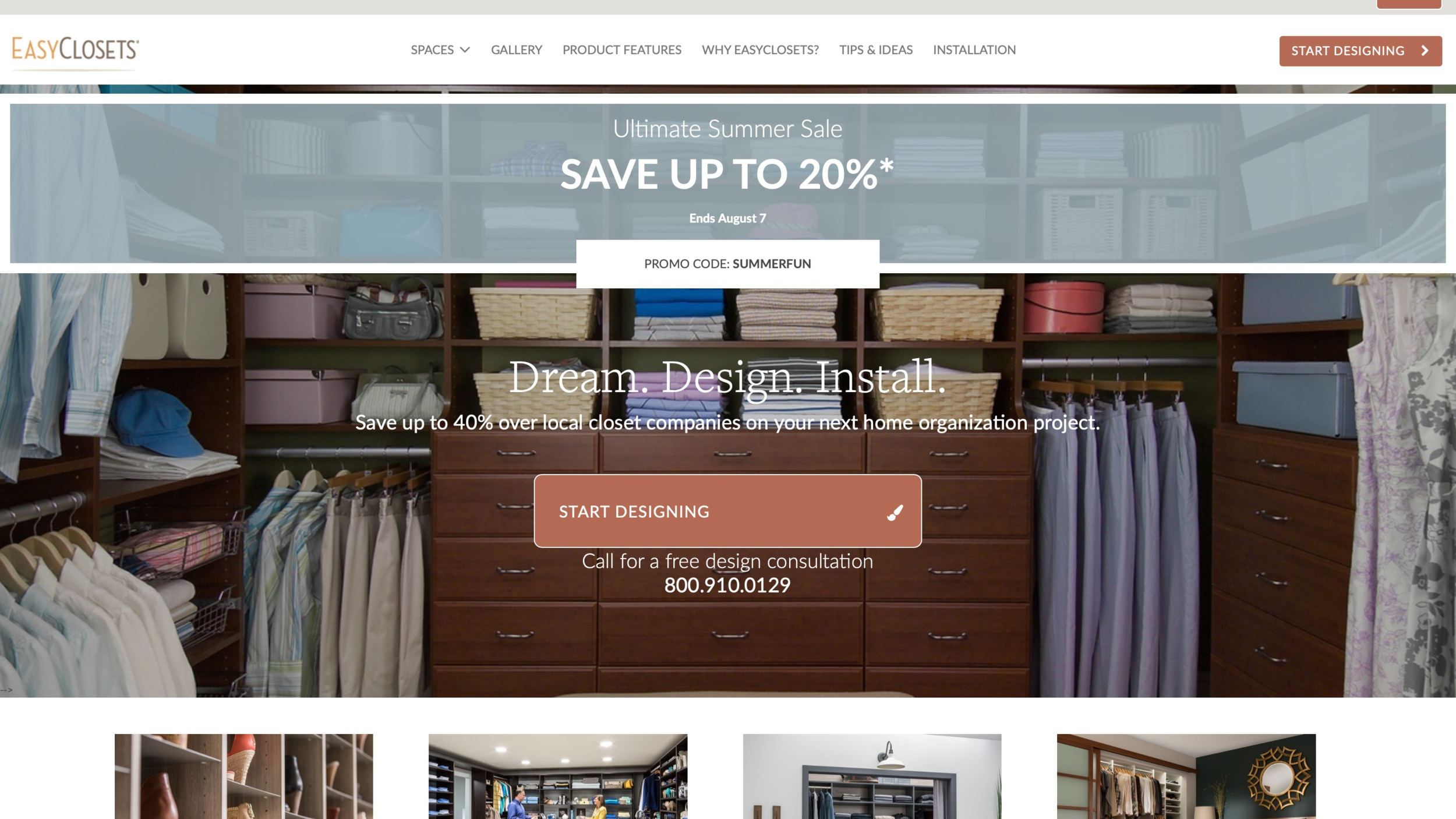 Best digital marketing and PR for the home services and home decor industries. Easy Closets  https://www.easyclosets.com