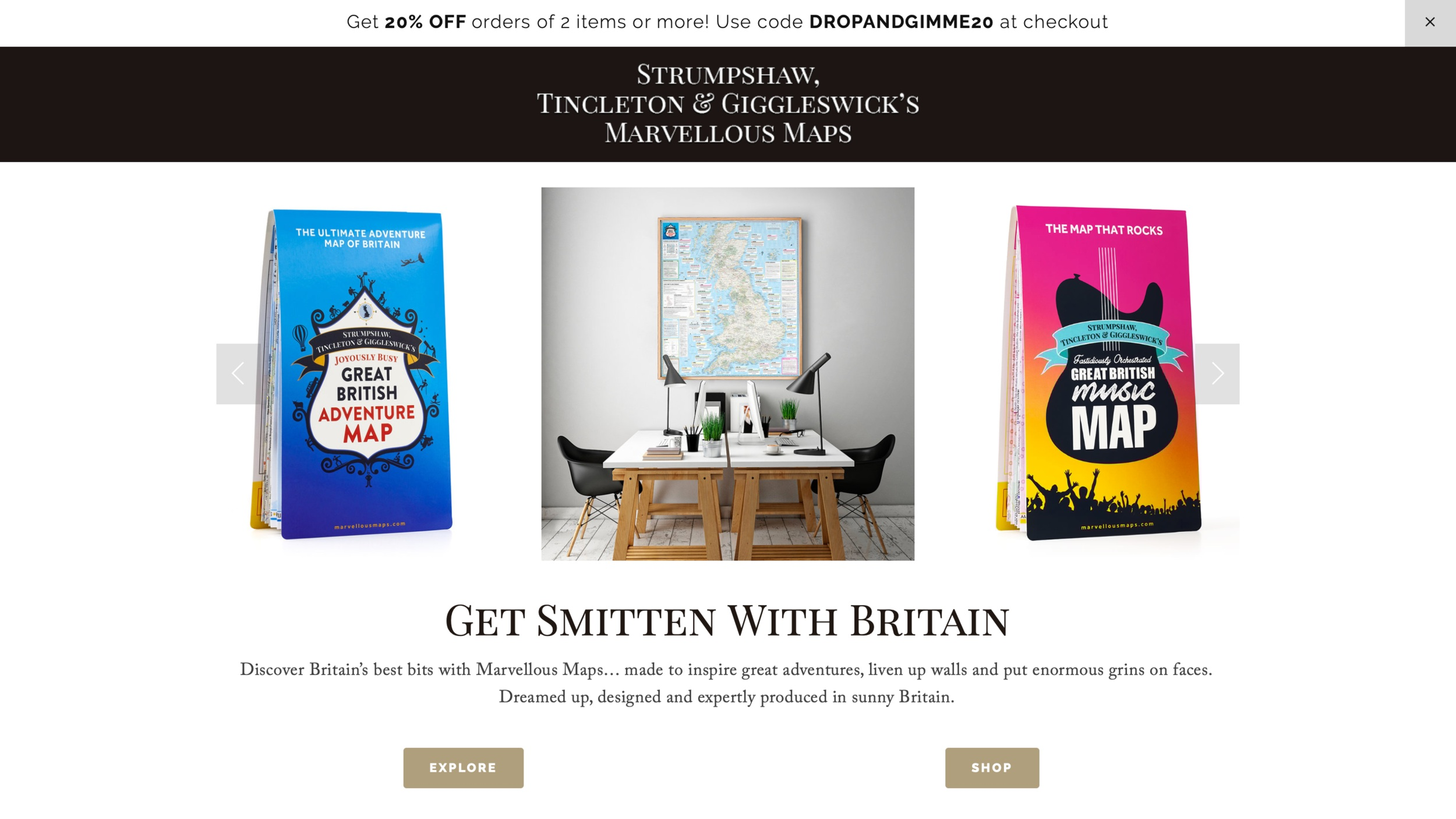 Best holiday PR agency for gifts. Gift Guides, product promotion and top gift ideas. ST&G's Marvelous Maps https://marvellousmaps.com