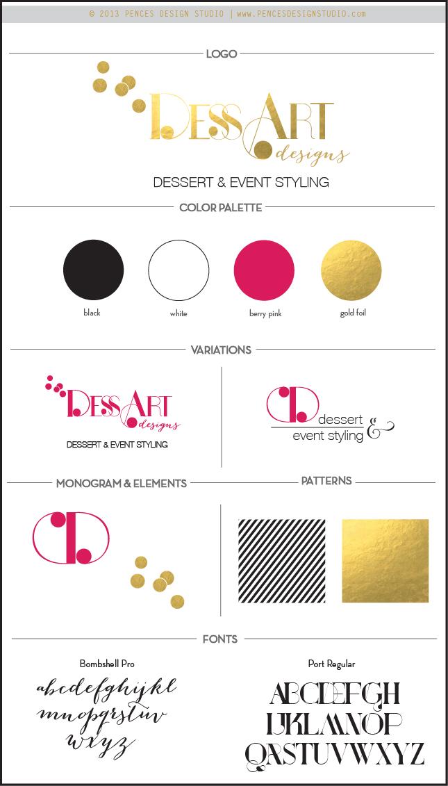 DessArts- branding