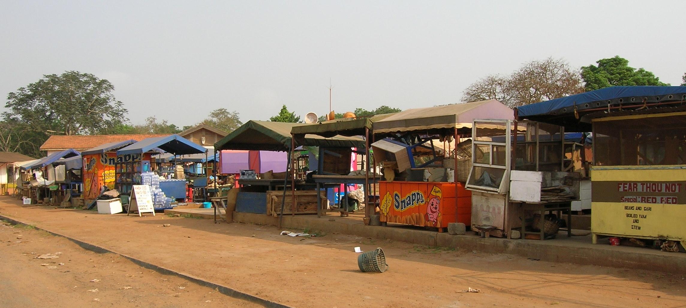 the market at ISH