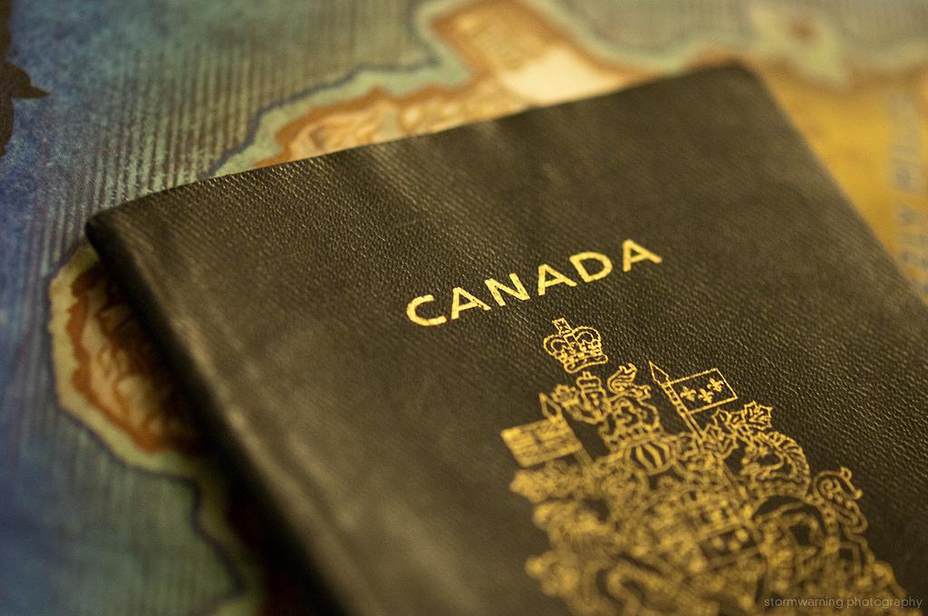 Canadian passport, via Jeff Nelson (Flickr)