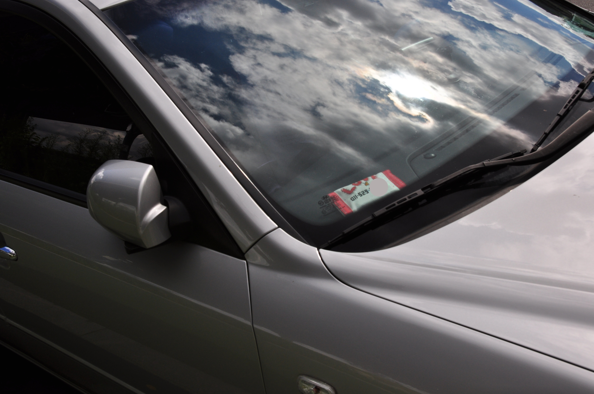 Many people means many cars. People may need to double-park, so they leave their phone number in on the dash so that they can be contacted if necessary.