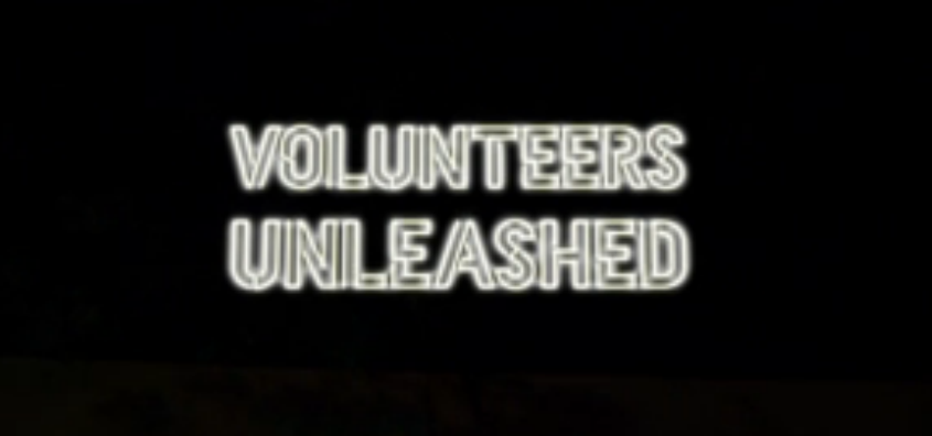 Volunteers Unleashed title card