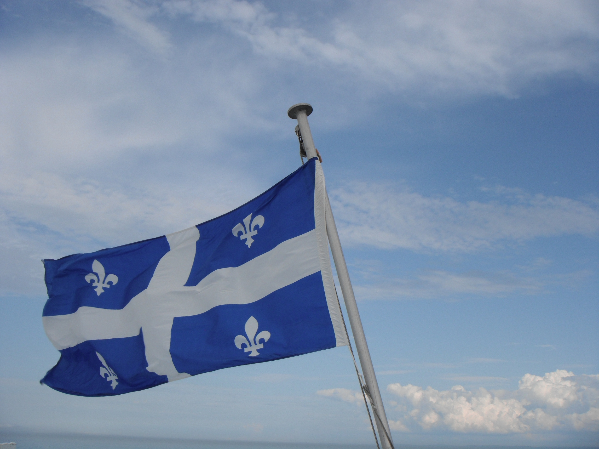 Quebec's flag
