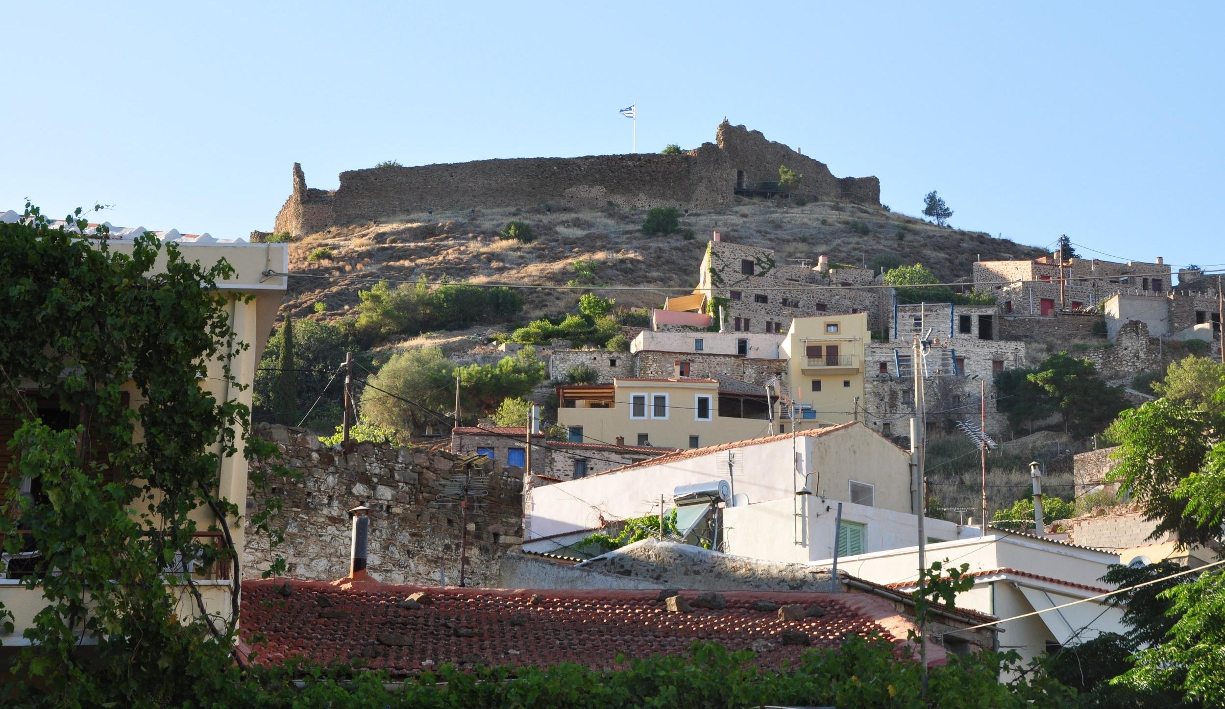 The castle at Volisos