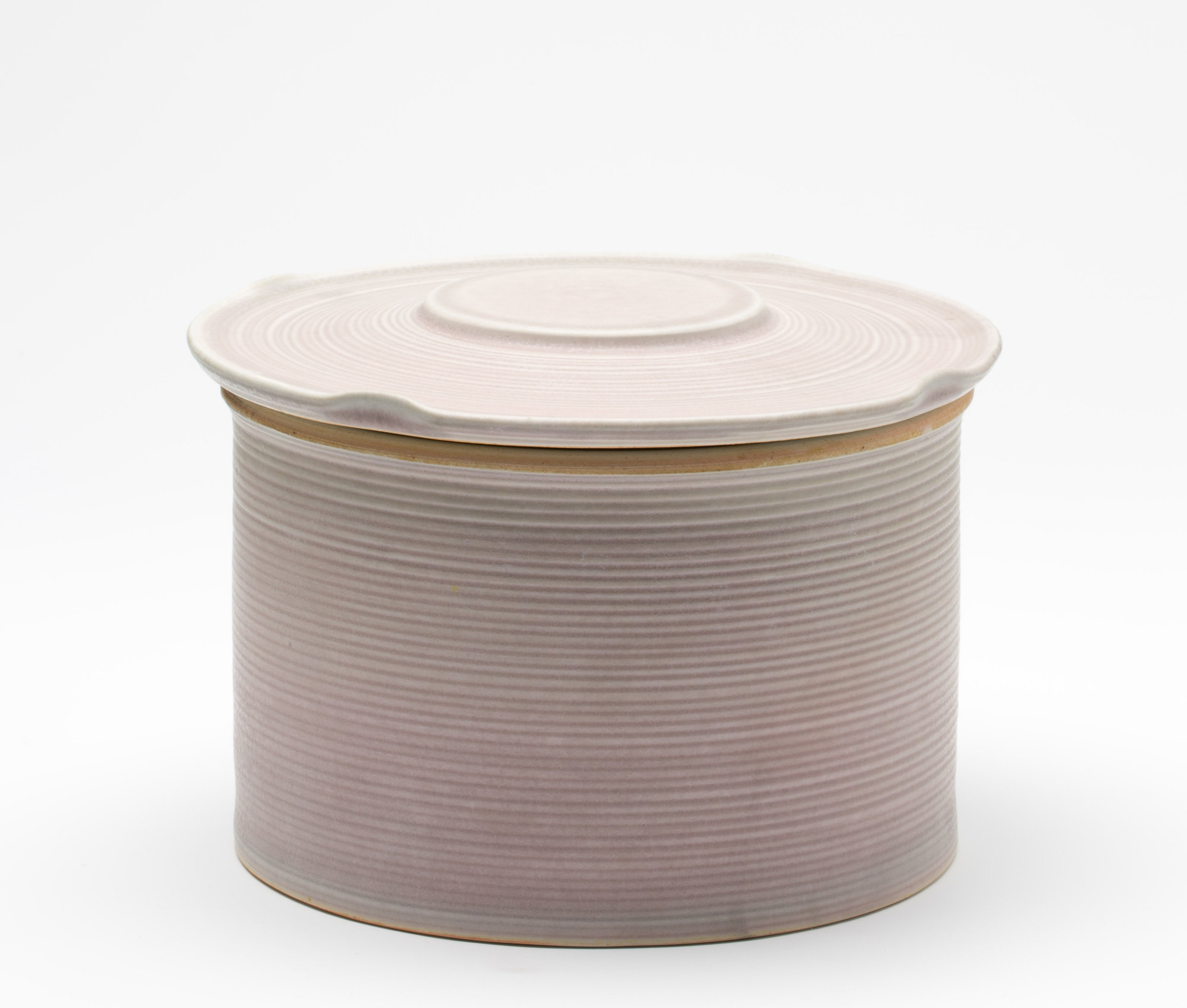 jar, cone 9 reduction porcelain