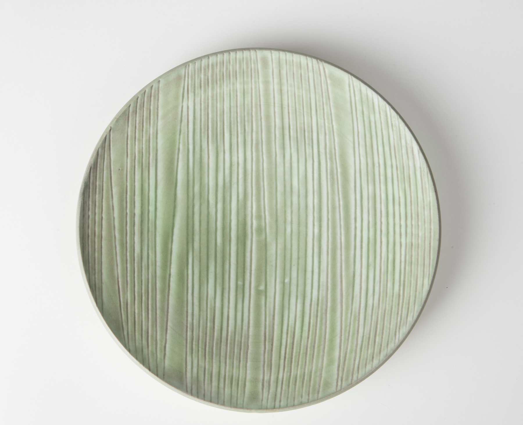 martin plate, cone 9 reduction porcelain
