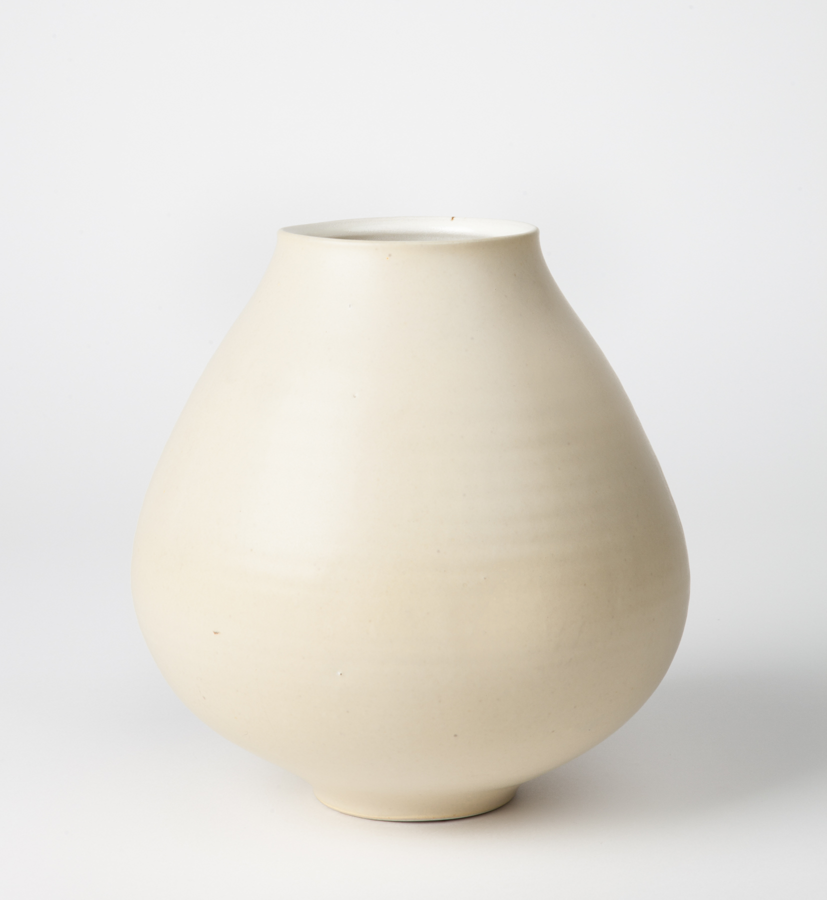 vase, cone 9 reduction porcelain