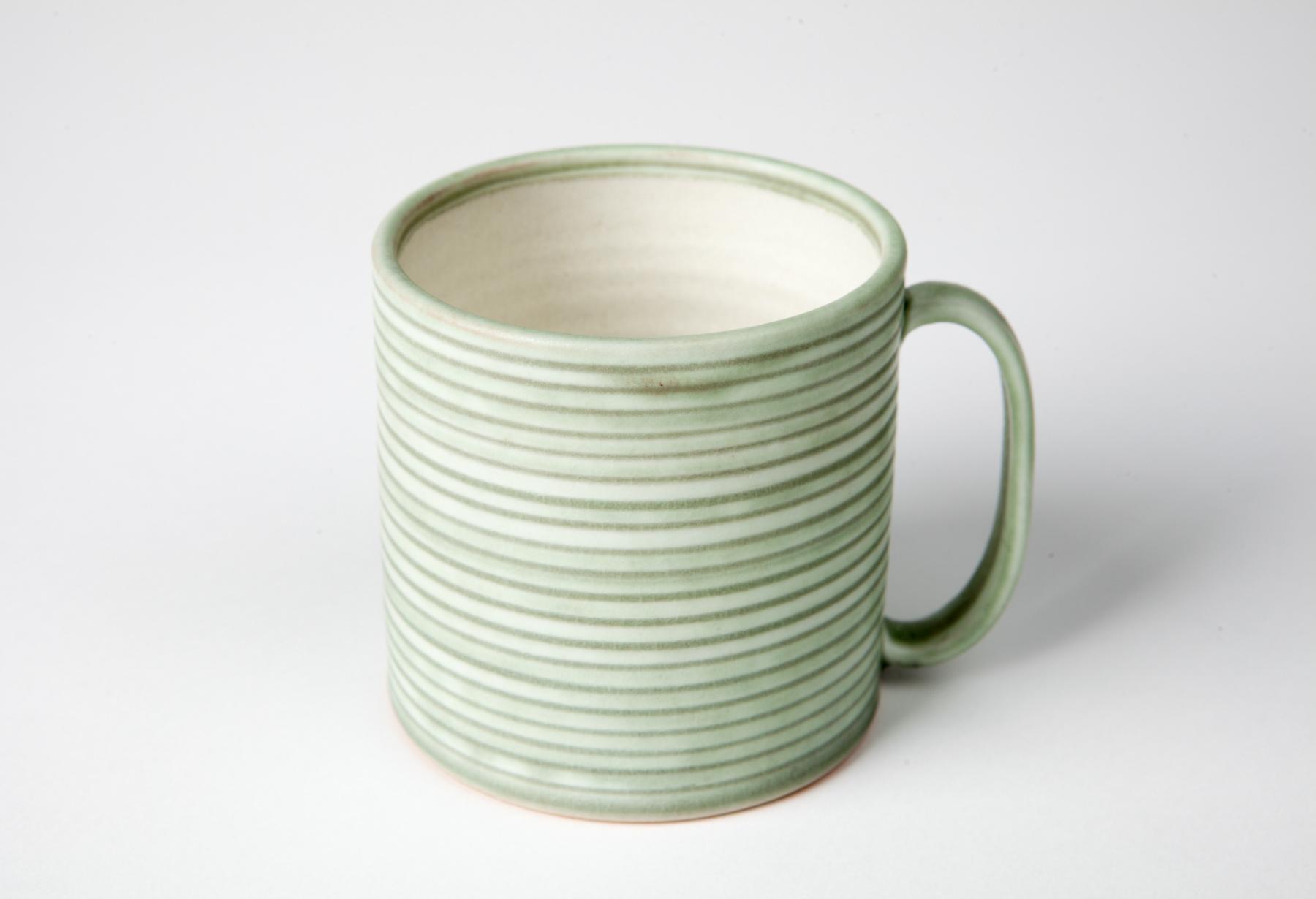 martin mug, cone 9 reduction porcelain