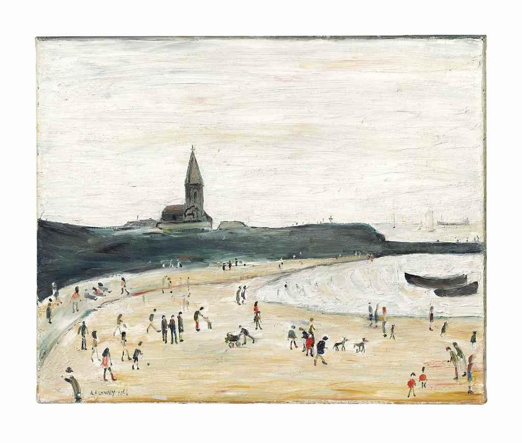 Modern British & Irish Art Evening Sale at Christie's today Estimate GBP 250,000 - GBP 350,000
