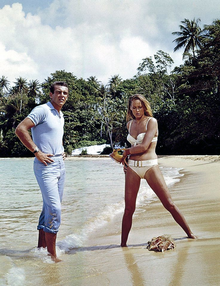 Sean Connery in Dr No (1962)