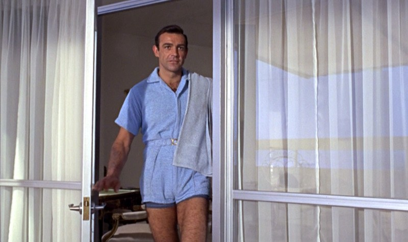 Sean Connery in Goldfinger (1964)