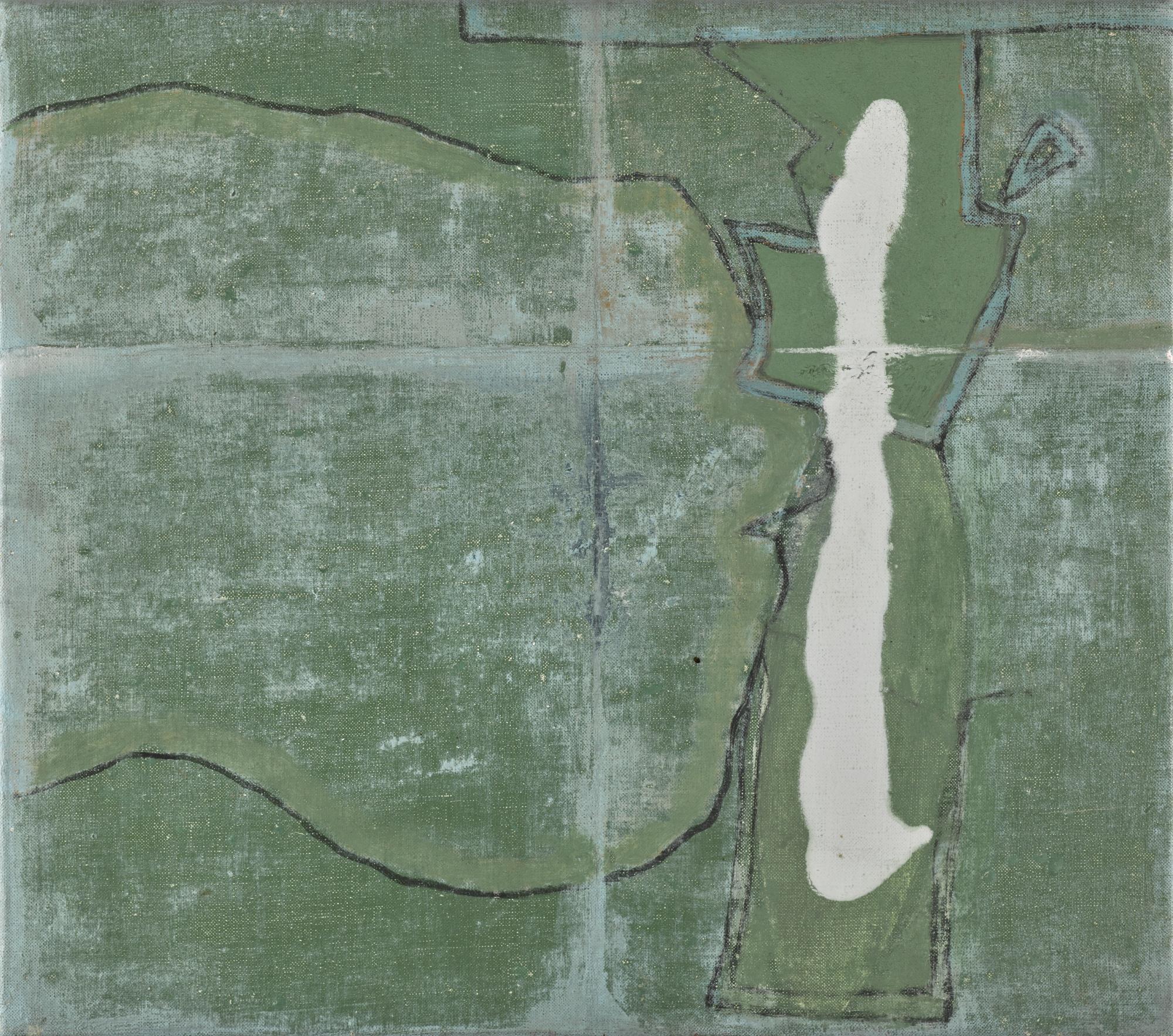 Green Quadrant (1970-73) by Prunella Clough,Estimate £3,000 — £5,000