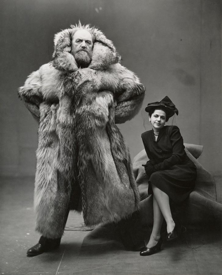"""Peter and Dagmar Freuchen,"" by Irving Penn (1947)..jpg"