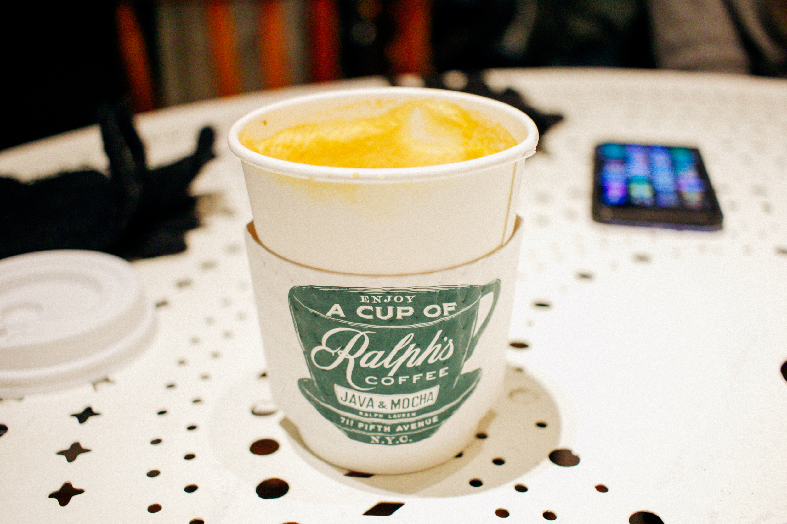 Ralph's coffee shop was soo good and I just loved that it was on the second floor of the Ralph Lauren store on 5th avenue!