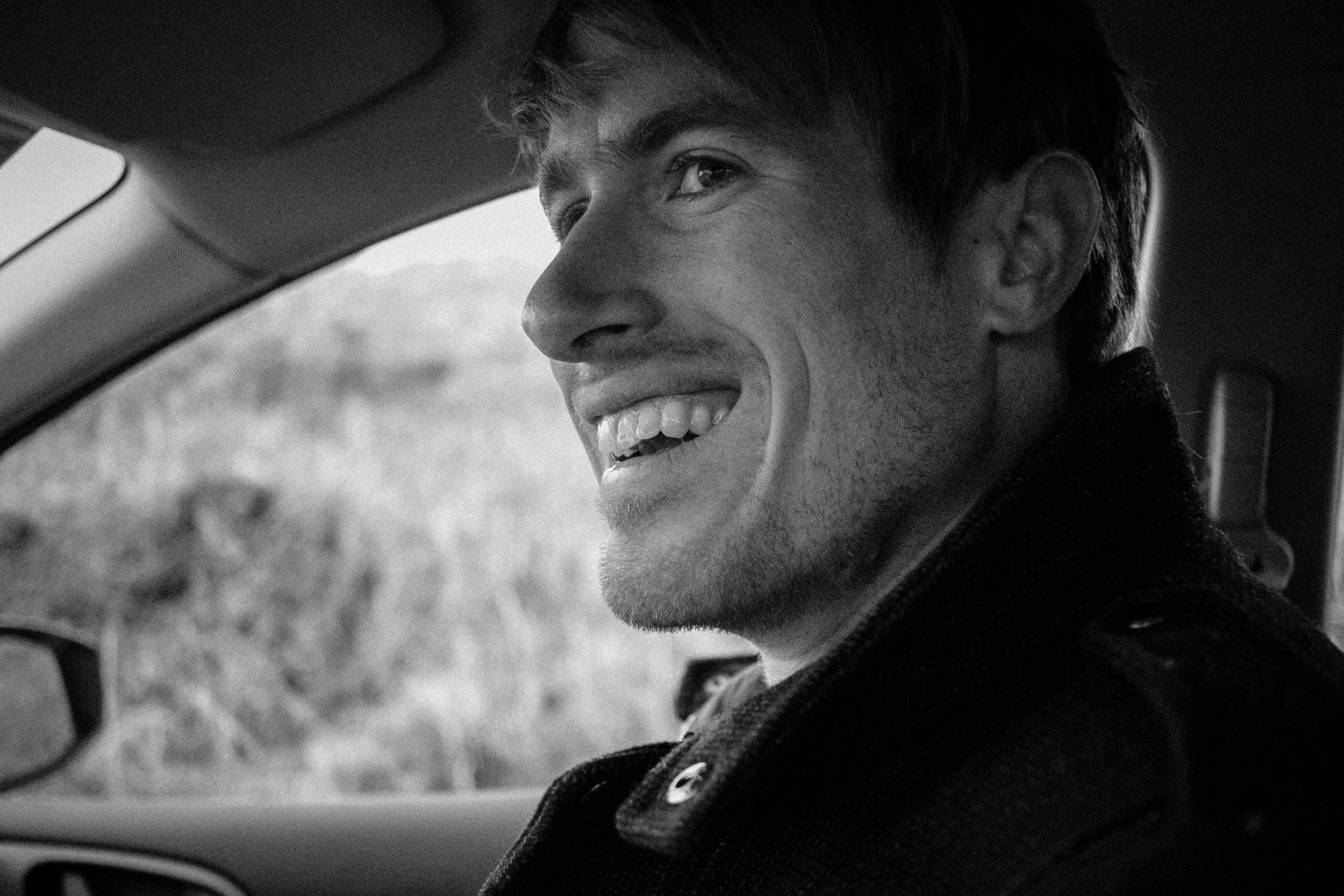 I love his adventure smile