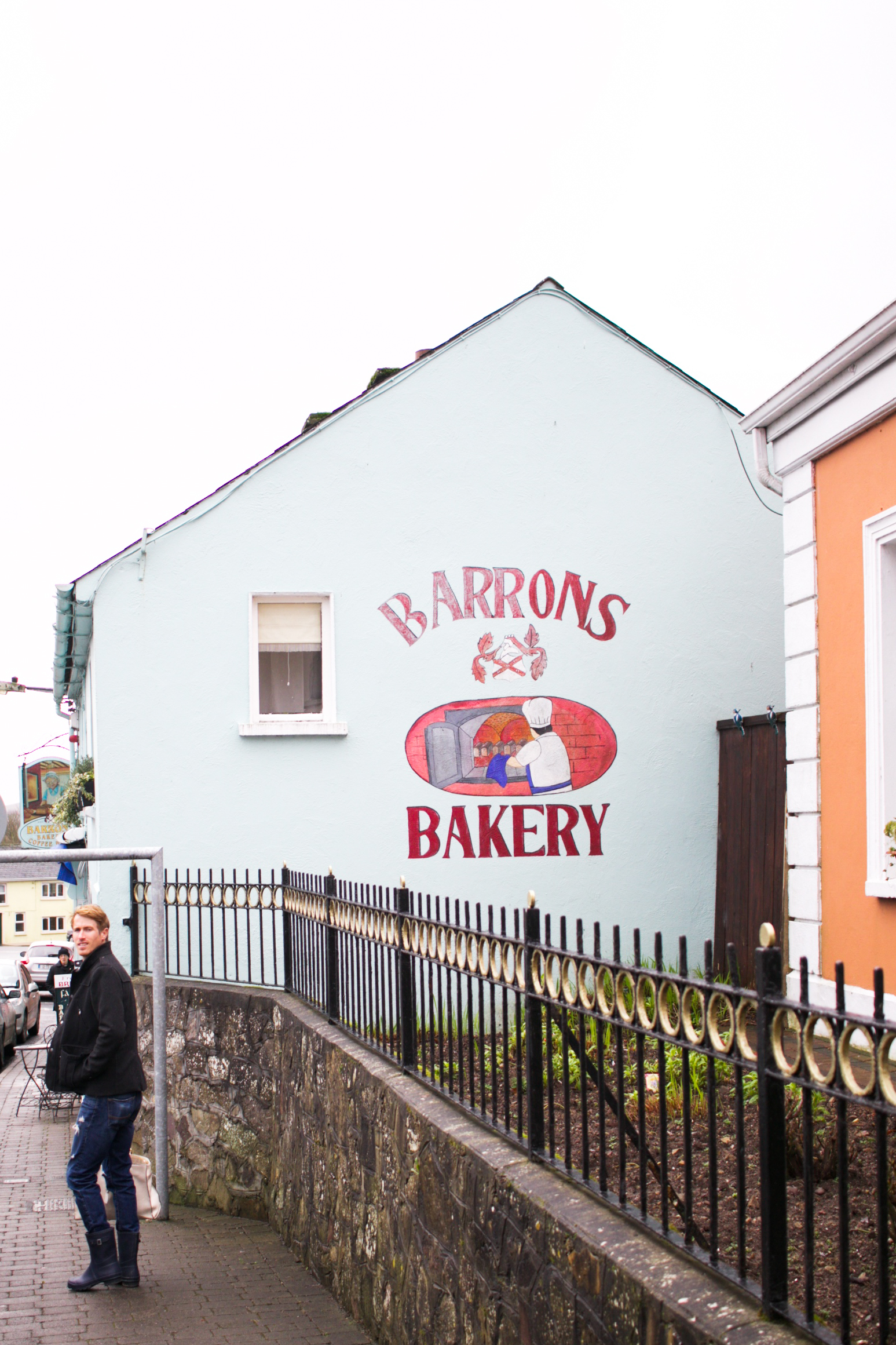 I discovered BArron's Bakery on a google/pinterest search for the best food and baked things in ireland! We highly RECOMMEND it. Delicious bread and scones, and delightful tea!