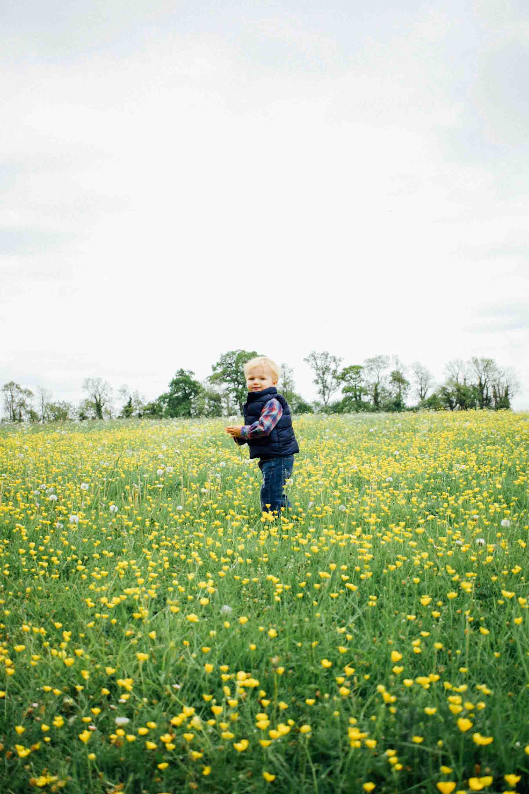The green fields and yellow flowers... absolutely beautiful and they just went on for miles.