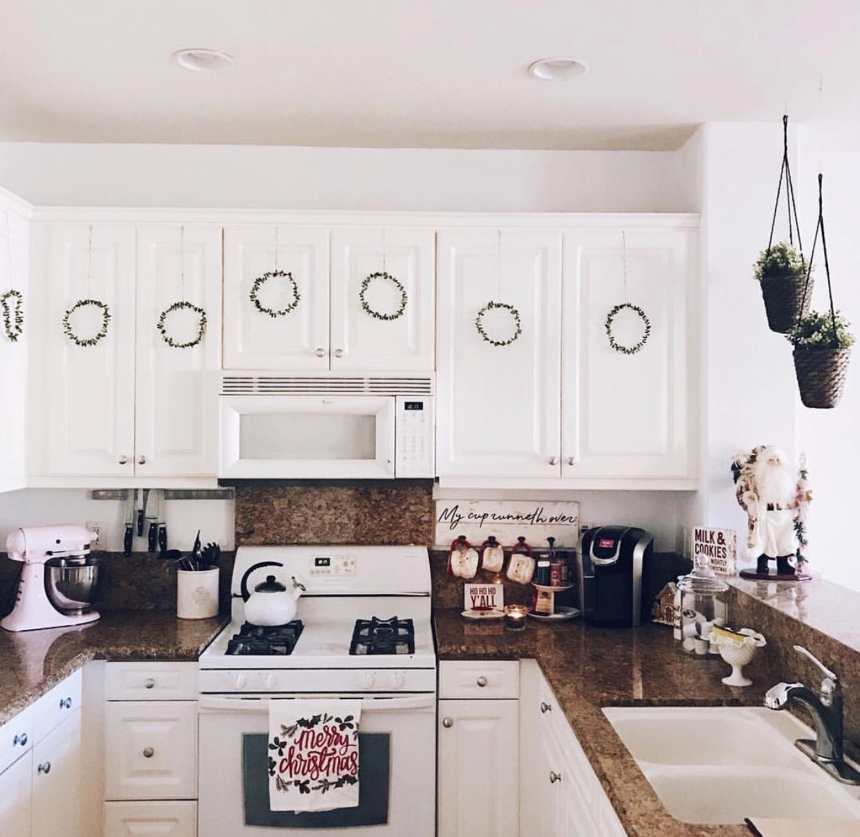 Our kitchen, Christmas 2017