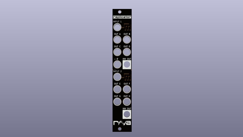Render of Replicator Front Panel