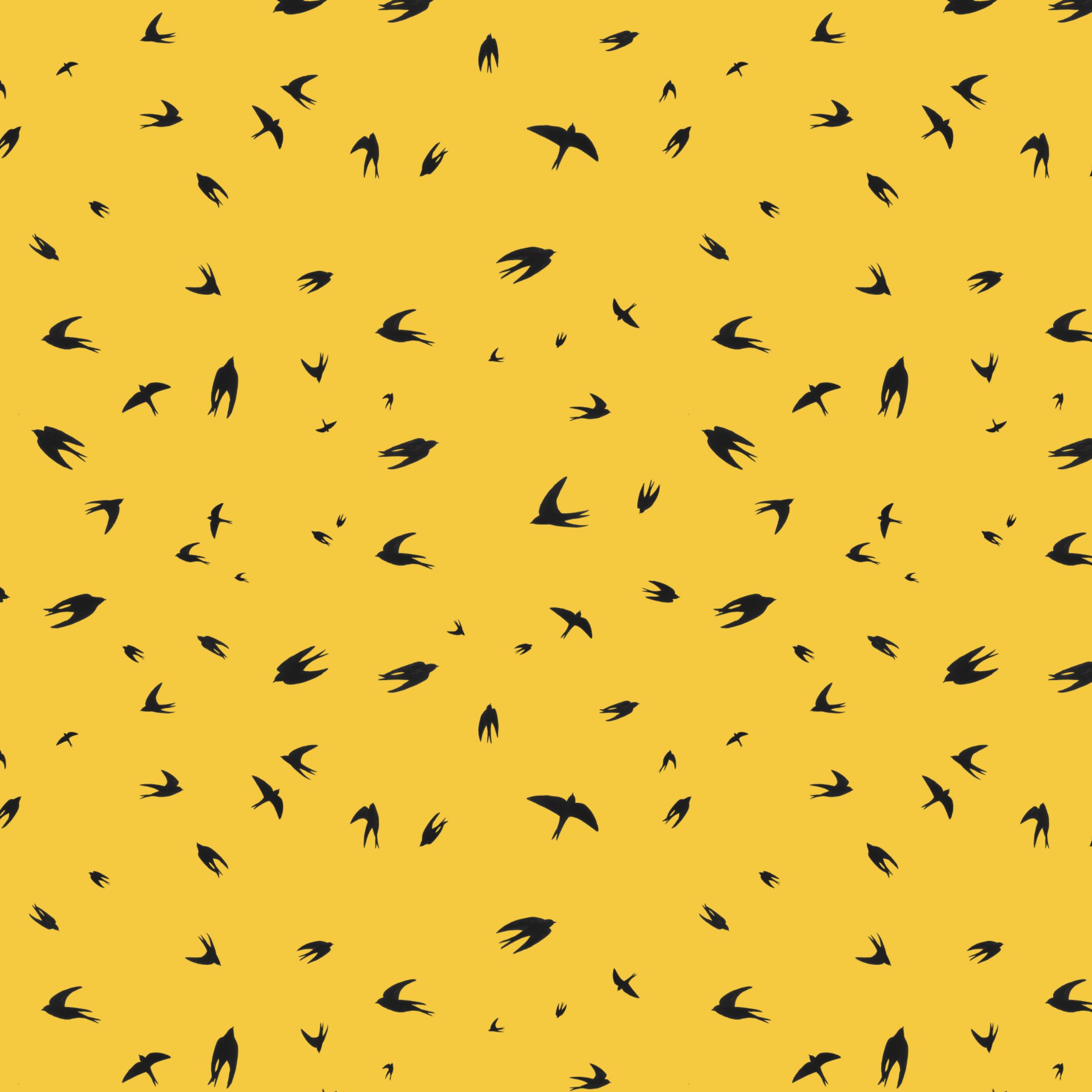 scattered swallows pattern