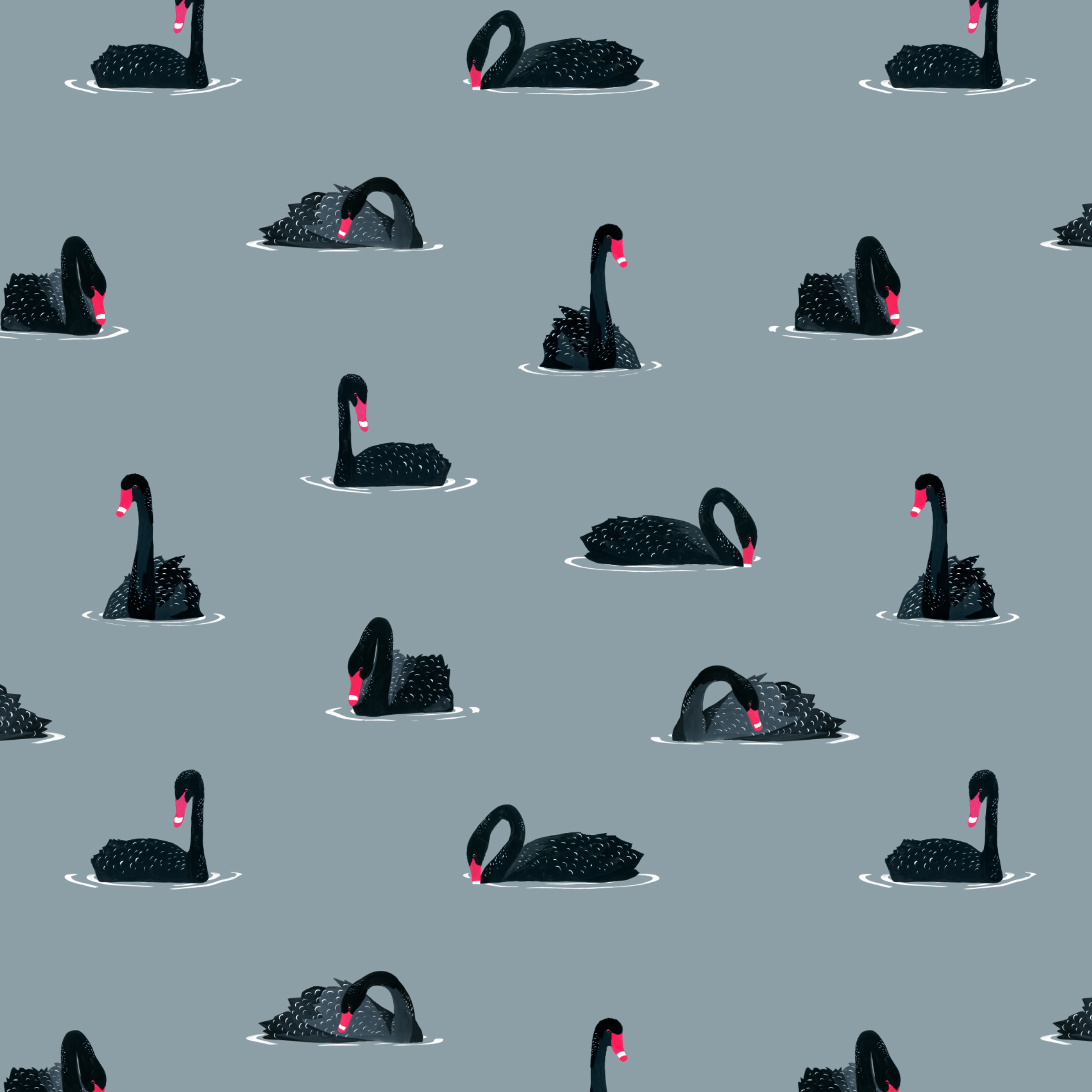 black swan pattern