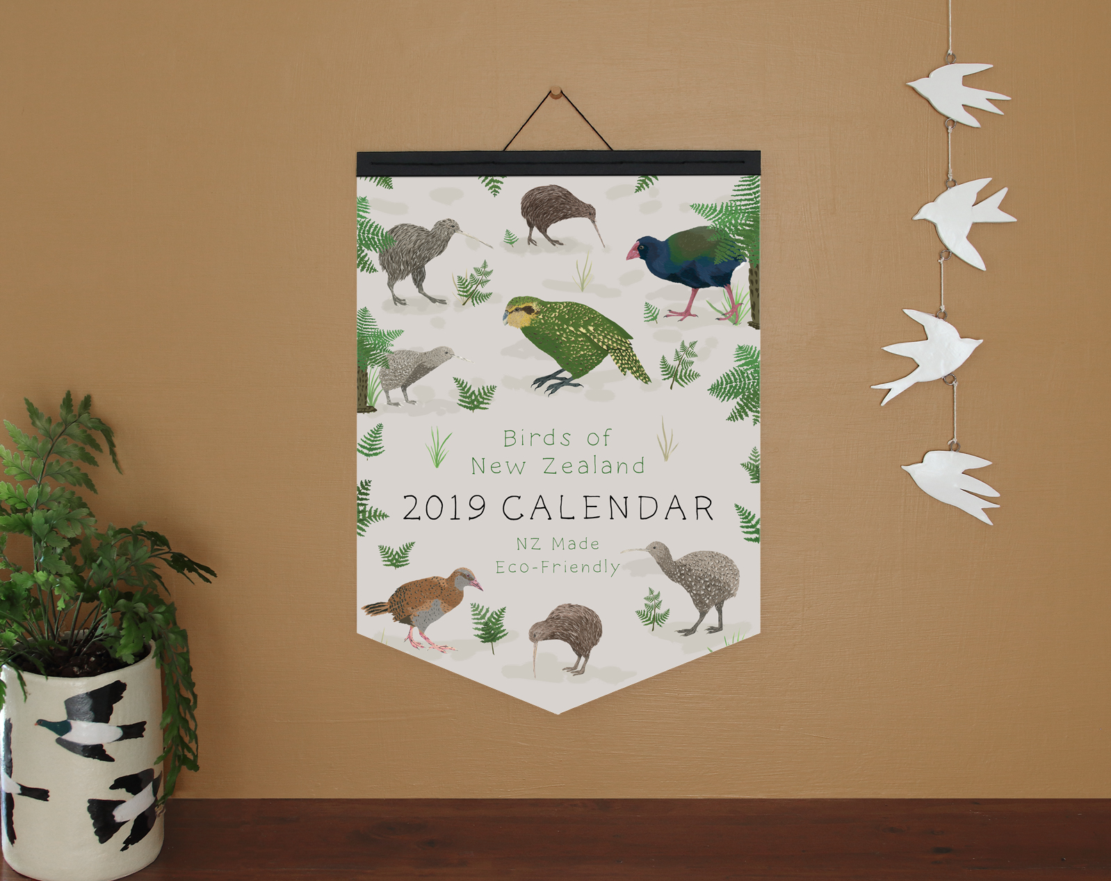 A3 calendar - with paper binding option.