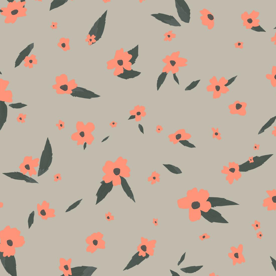 melissa boardman daisy scatter pattern pink.jpg