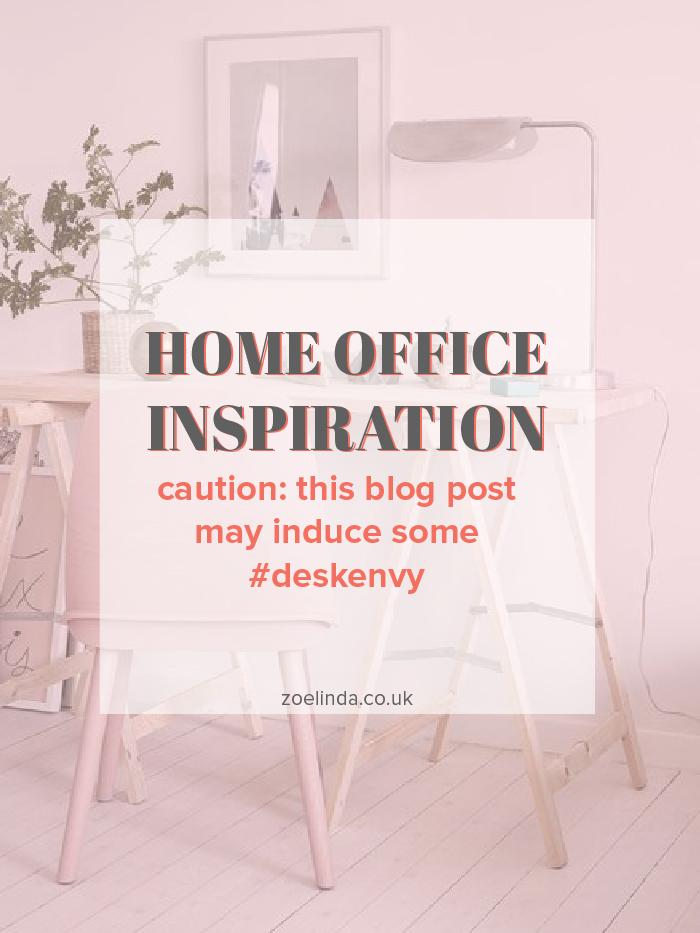 Need some inspiration for your home office or workspace? Have no fear! Repin this post and click through to make your work from home adventure a little more stylish!