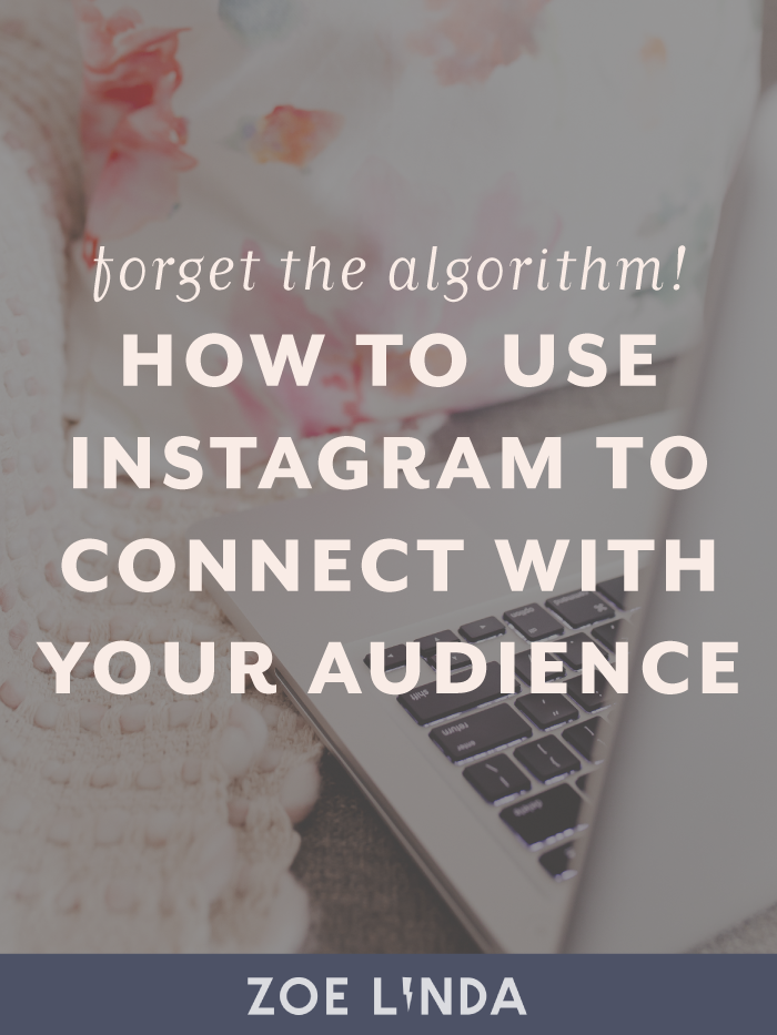 How To Use Instagram To Make Meaningful Connections | From themes to hashtags to strategies, it took me a while to realise that Instagram is exactly what you make of it. I wanted to use Instagram as a platform for connecting with my audience and building a community. Here's how I shifted my Instagram mindset to start enjoying this social media platform again!