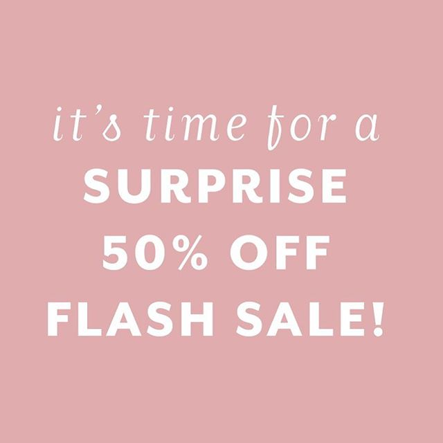 You read it right! I'm offering 50% off all my products + courses over at courses.zoelinda.co.uk for the next 48 hours! Just use the code 'FLASH50'! Go go go 🎉 - Wanna know what you can grab? Here's a rundown of all course products and the prices they are in the sale: � Ultimate Instagram Hashtag Database ($24.5) � Instagrowth ($48.50) � Instagrowth Workbook only ($23.50) � Influencer Outreach Bundle ($2.50) � Influencer Marketing Masterclass ($98.50) If you have any Q's about this, just let me know below!