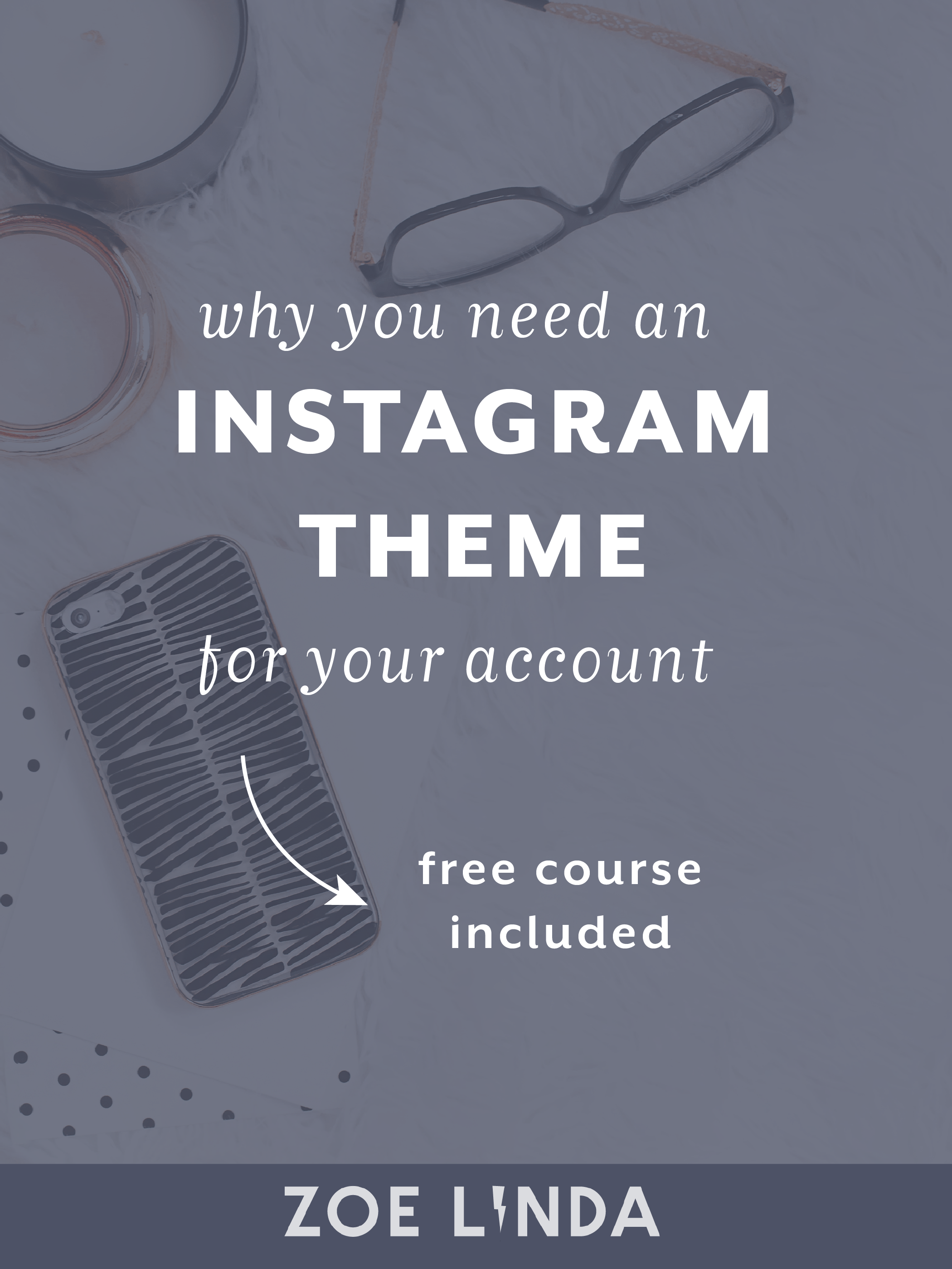 Why Your Instagram Account Needs A Theme (+ Free Email Course To Help You Find Yours) | Struggling to find your own personal Instagram theme? Don't even know if it's worth it? Don't give up! I've got a free 5 day email course just for you! Click through to find your Instagram theme! #instagram #instagrammarketing