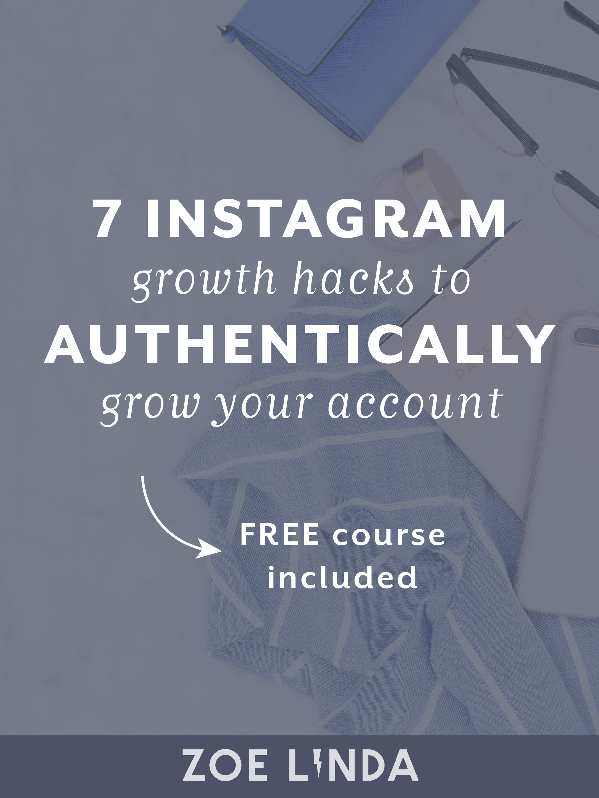 7 Instagram Growth Hacks: How To Authentically Grow Your Following And Engagement On Instagram | Sick of spam comments and the follow/unfollow method on Instagram? You're not the only one! Instead of losing faith in Instagram, there are 7 things you can easily do to help boost your presence and connect with your audience on Instagram. Click here to read my guide and grab your FREE course! Perfect for bloggers, creative entrepreneurs, and small business owners!