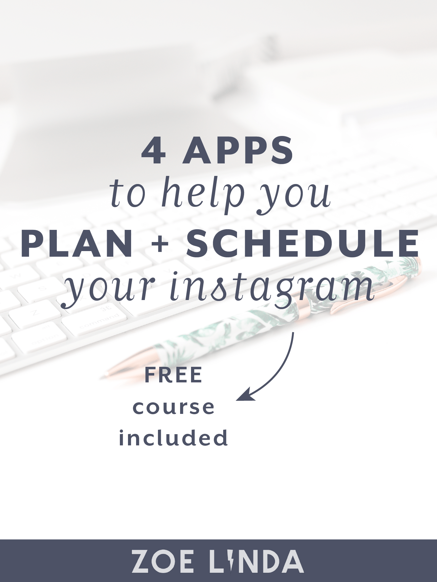 The Best Apps For Editing Scheduling Your Instagram Posts | There are so many Instagram apps out there - it can get a little confusing. If you're a blogging, creative biz owner or entrepreneur, you're gonna want to learn about my must-have Instagram apps! Click through to find out about my favourite apps AND get a great discount too!