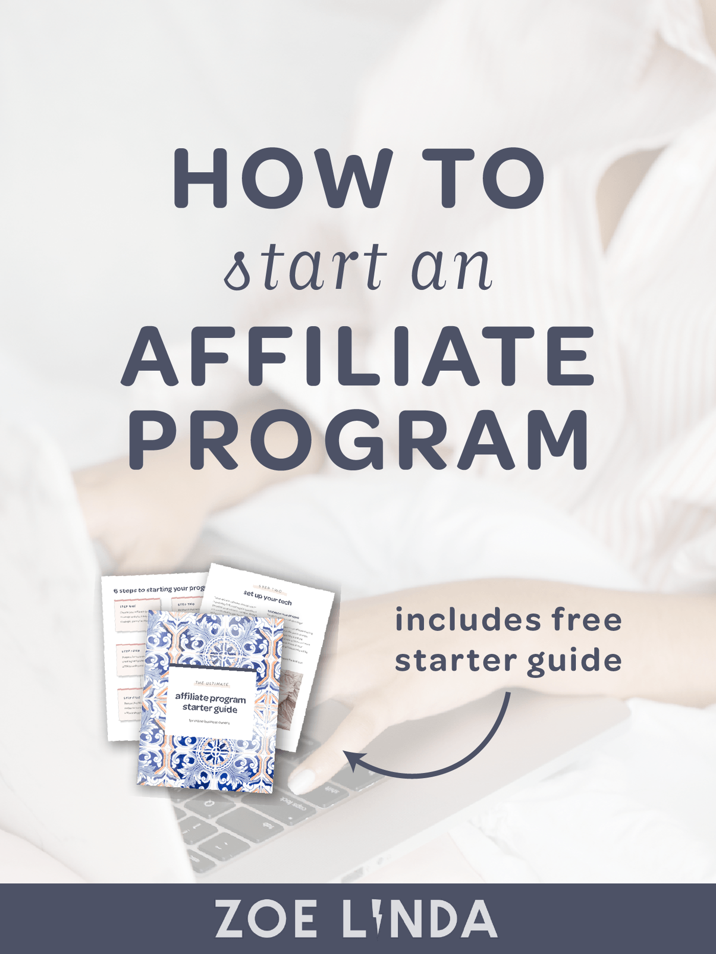 How To Start An Affiliate Program To Increase Your Product Sales | Setting up an affiliate program for your online business is a great way to reach new audiences, make connections, and increase your income. But how do you go about creating one? Click through to read my ultimate guide to starting an affiliate program for your business.