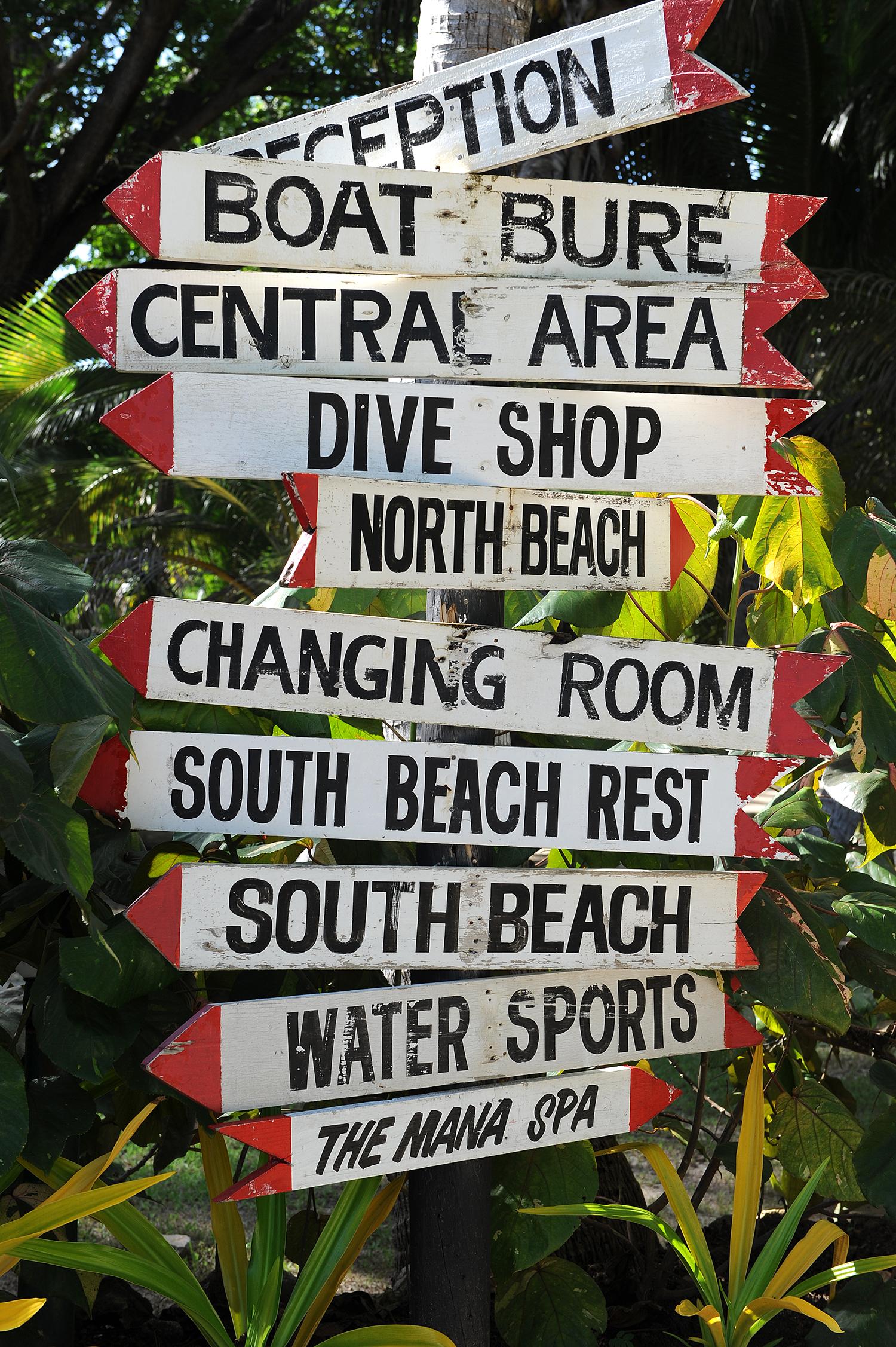 Kyltti, hotelli, Fiji, Fidzi, matkablogi