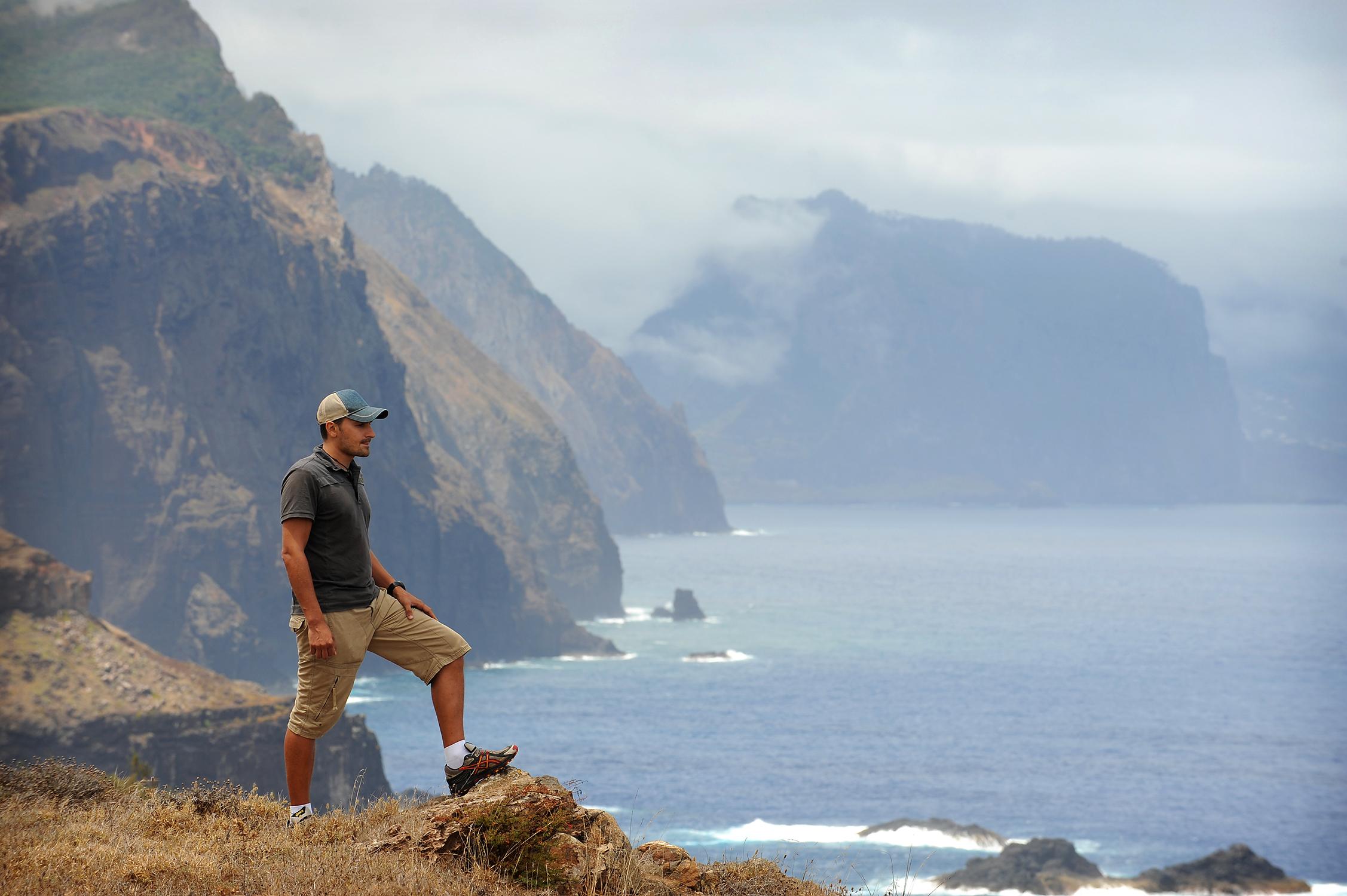 Matkablogi, blogi, Portugali, Madeira, vuoret, meri
