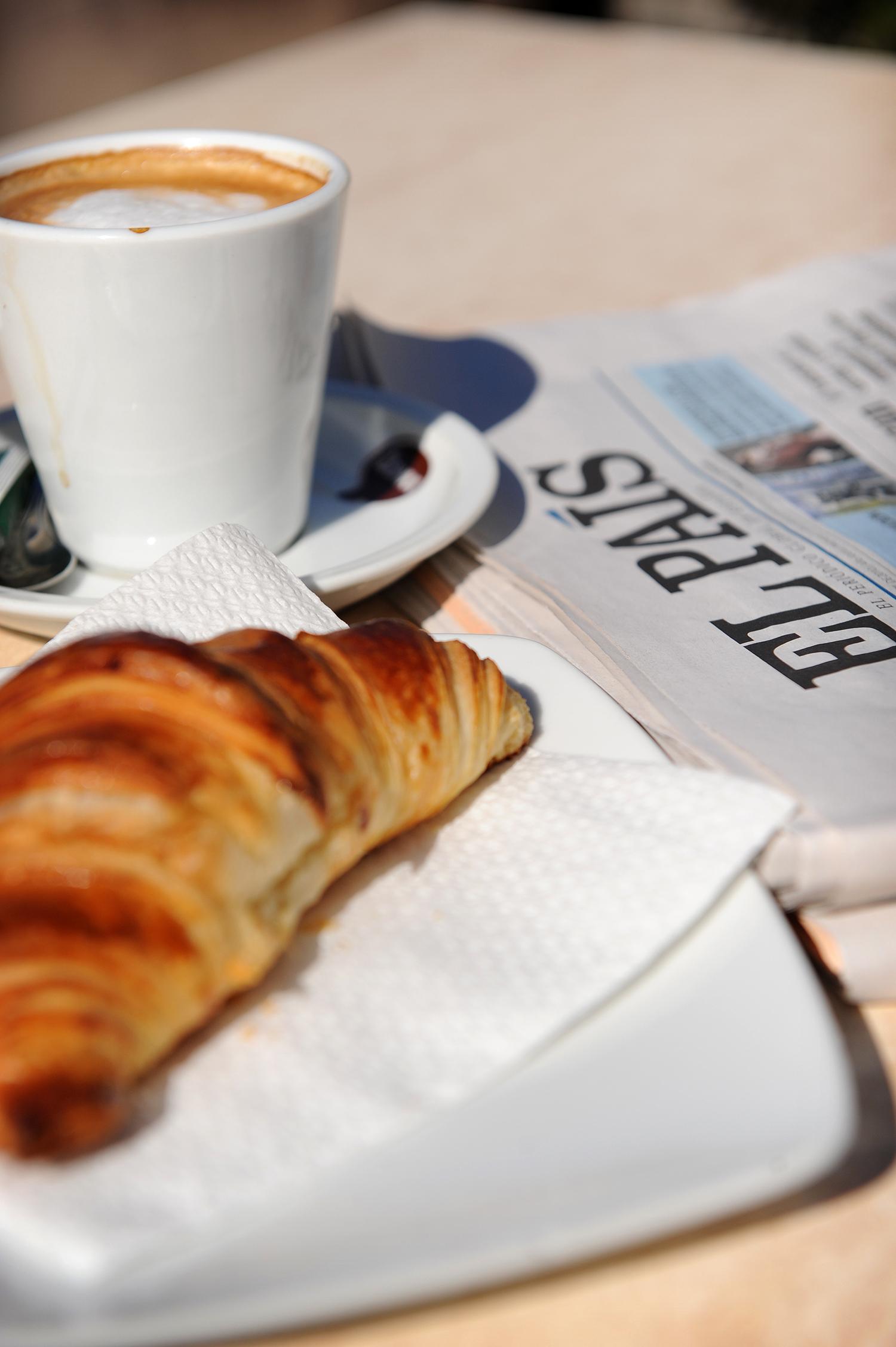 Kahvila, Espanja, matkablogi, aamupala, blogi, Madrid