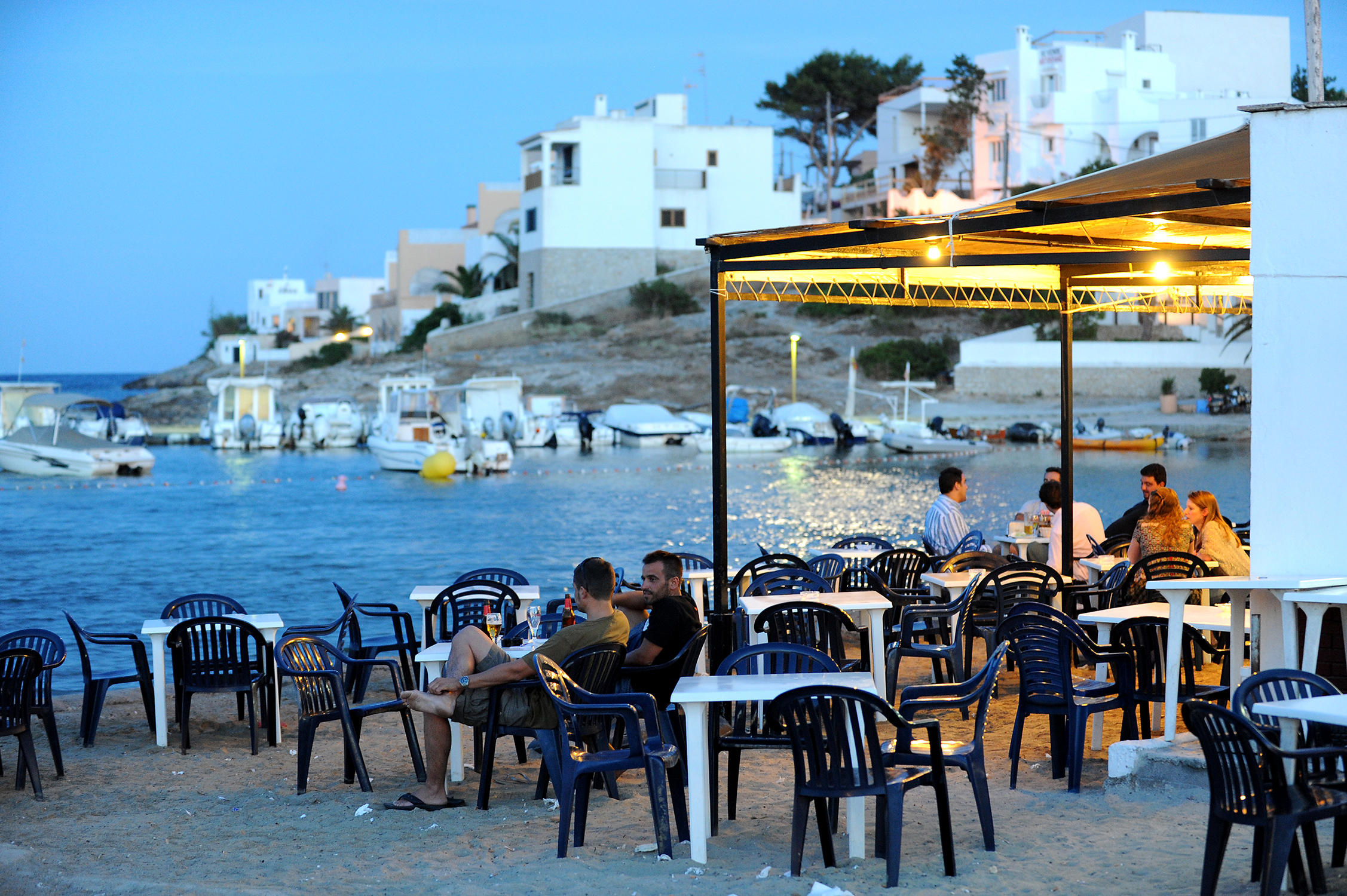 rantakahvila, Ibiza, Baleaarit, Espanja, matkablogi, blogi